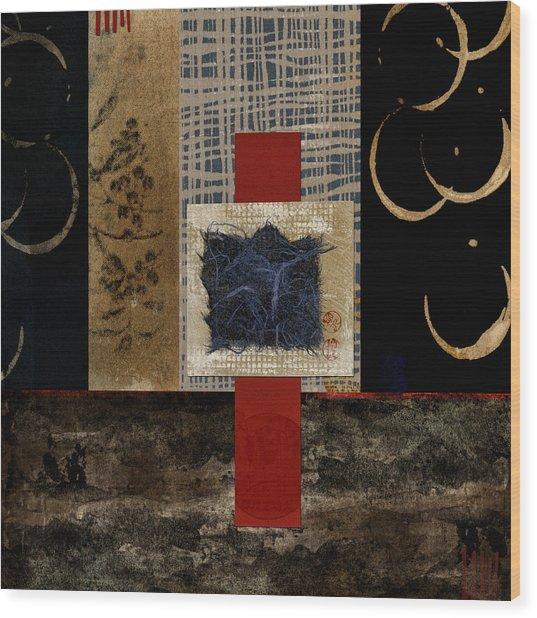 Ten Moons Wood Print