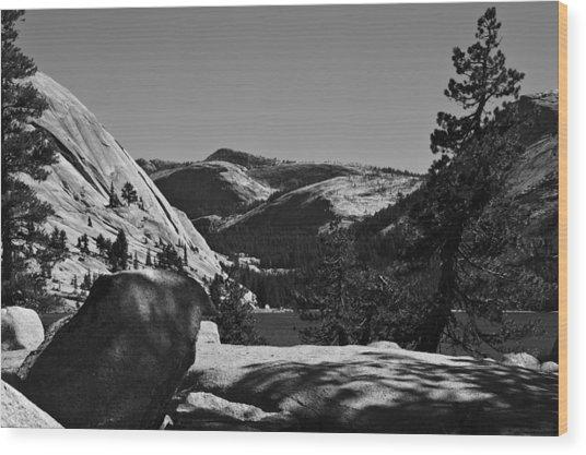 Tenaya Lake In Yosemite Wood Print