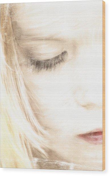 Tender Wood Print by Chantal Scholten