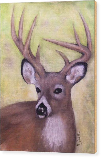 Tennessee Wild Life - Buck Wood Print