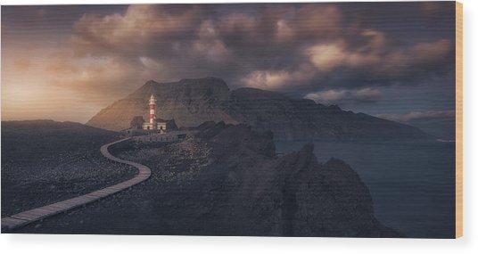Tenoa?s Lighthouse Wood Print