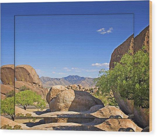 Texas Canyon 2 Wood Print