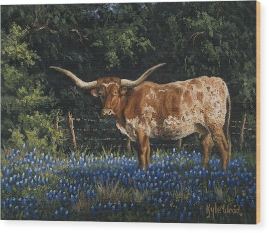 Texas Traditions Wood Print