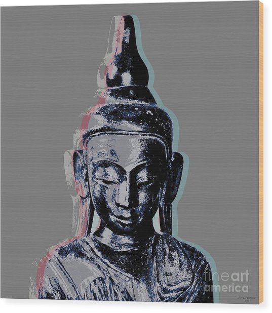Thai Buddha #2 Wood Print