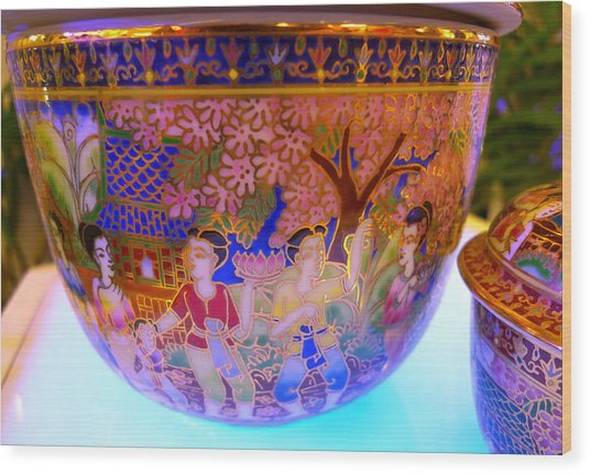 Thai Design Ceramics Wood Print