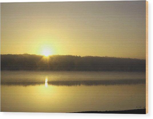Thanksgiving Sunrise II Wood Print