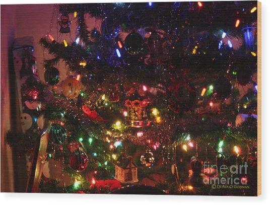 That Christmas Glow Wood Print