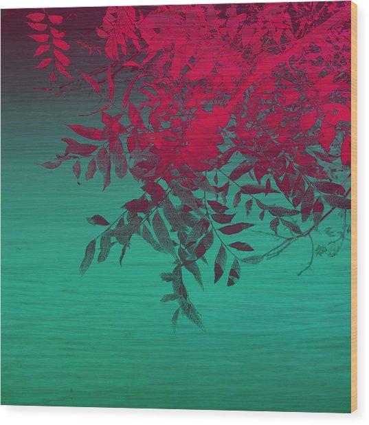 That Tropical Feeling Wood Print