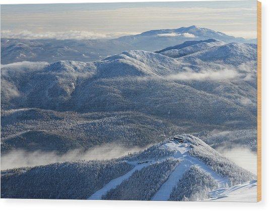 The Adirondacks Wood Print