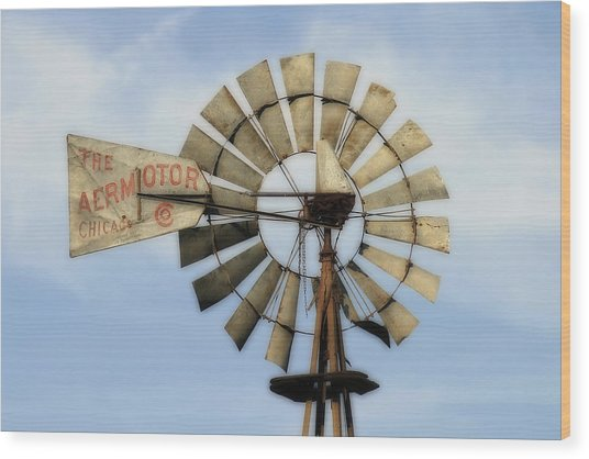 The Aermotor Company Wood Print