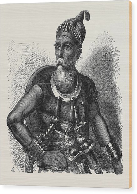 The Akali Of The Sikhs Wood Print