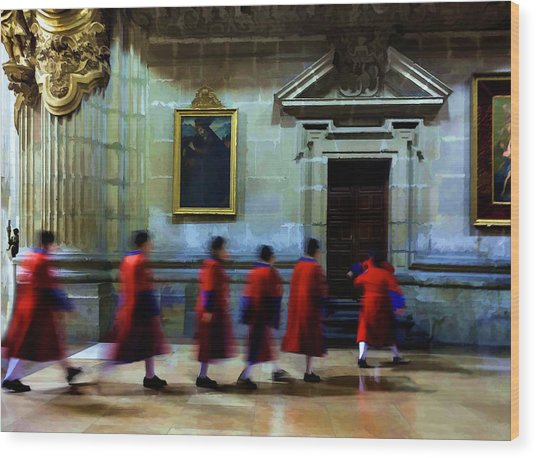 The Altar Boys Wood Print