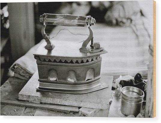 The Antique Iron Wood Print