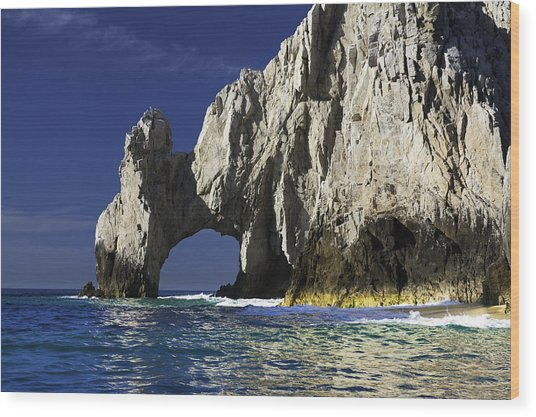 The Arch Cabo San Lucas Wood Print