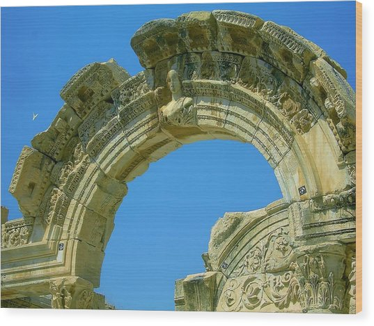 The Arch Of Diana Wood Print