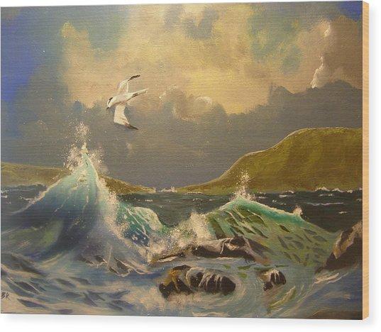 The Arctic Tern Wood Print