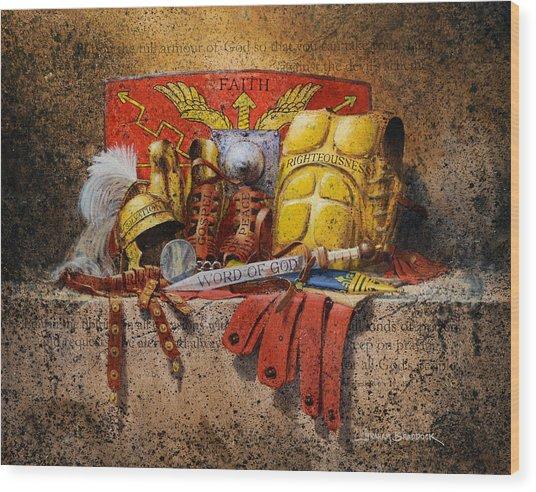 The Armour Of God Wood Print