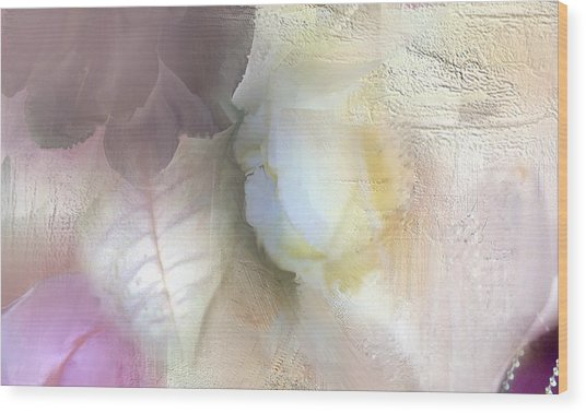 The Artrists Rose Wood Print