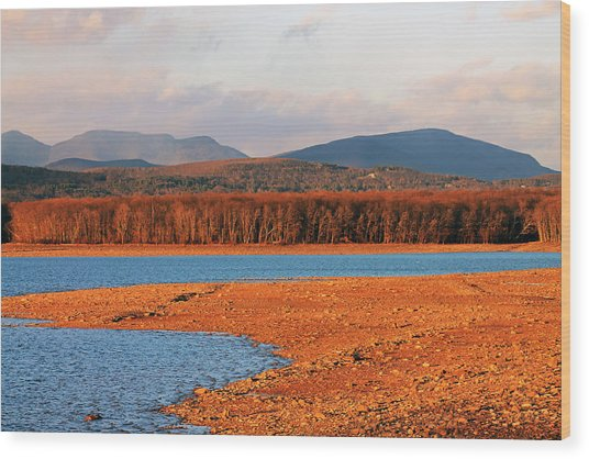 The Ashokan Reservoir Wood Print