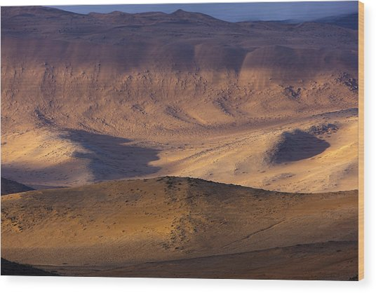The Atacama Desert Wood Print