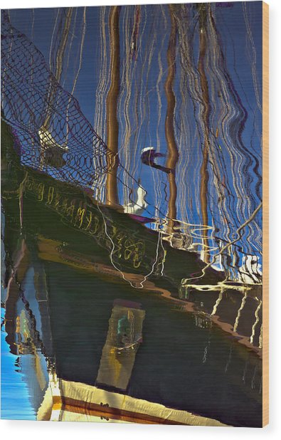 The Baltimore II Wood Print