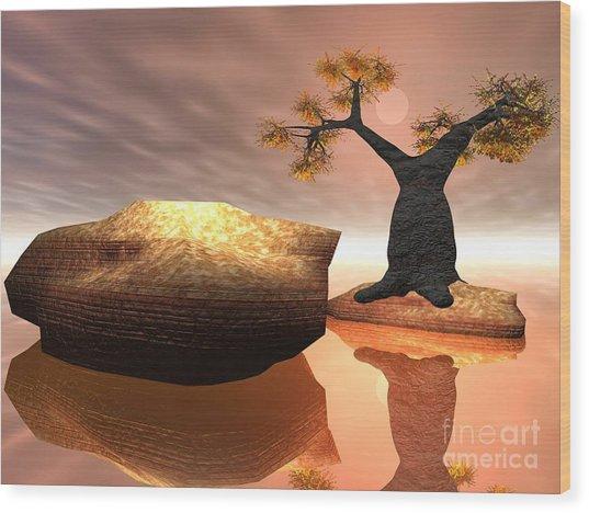 The Baobab Tree Wood Print