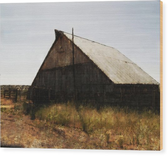 The Barn Wood Print