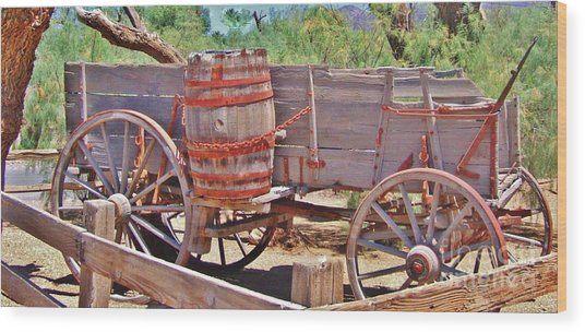 The Barrell Wood Print