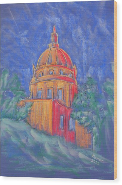 The Basilica Wood Print by Marcia Meade