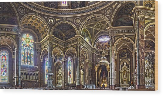 The Basilica Of St. Josaphat Wood Print