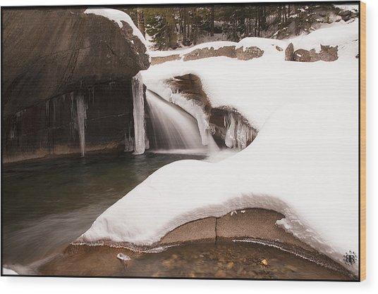 The Basin Wood Print by Christine Nunes
