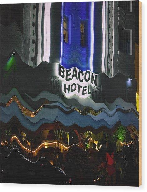 The Beacon Hotel Wood Print