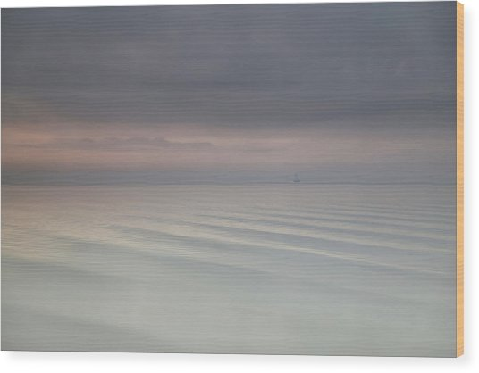 The Beauty Of The Wadden Sea Wood Print
