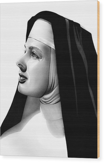 The Bell's Of St. Mary's Sister Mary Benedict Wood Print