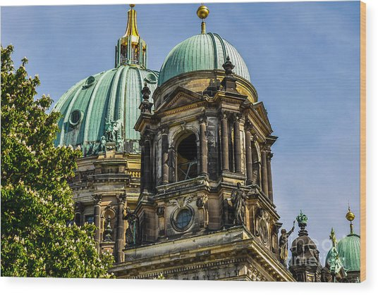 The Berlin Dome Wood Print