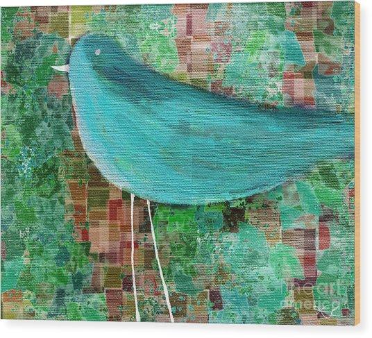 The Bird - 23a1c2 Wood Print