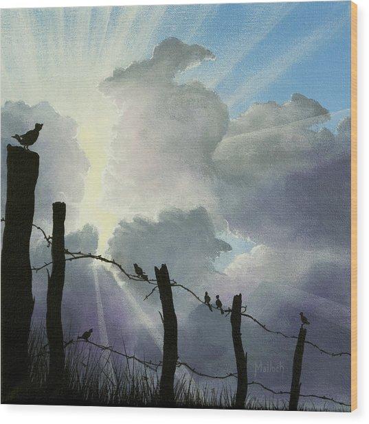 The Birds - Make A Joyful Noise Wood Print