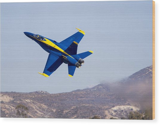 The Blue Angels In Action 4 Wood Print