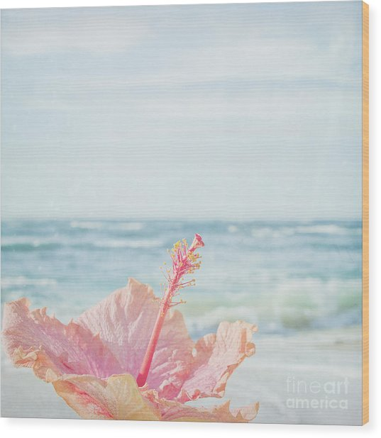 Wood Print featuring the photograph The Blue Dawn by Sharon Mau