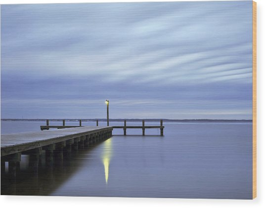 The Blues Lavallette New Jersey Wood Print