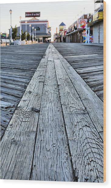 The Boardwalk Wood Print