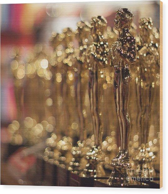 The Bokehed Oscars Wood Print