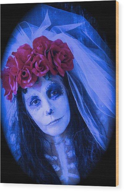 The Bride Waits Wood Print