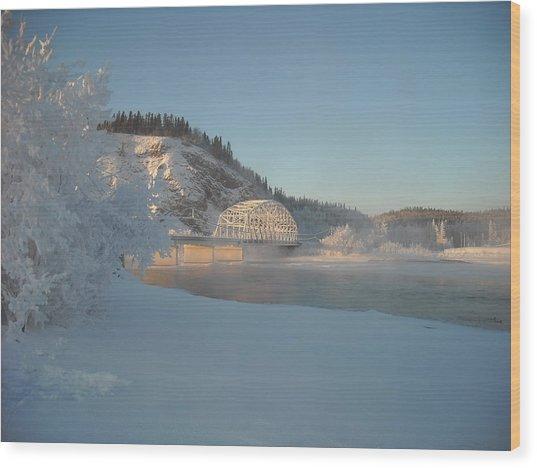 The Bridge At Big Delta 2 Wood Print