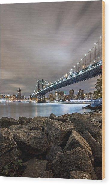 The Bridge Of 2 Cities Wood Print