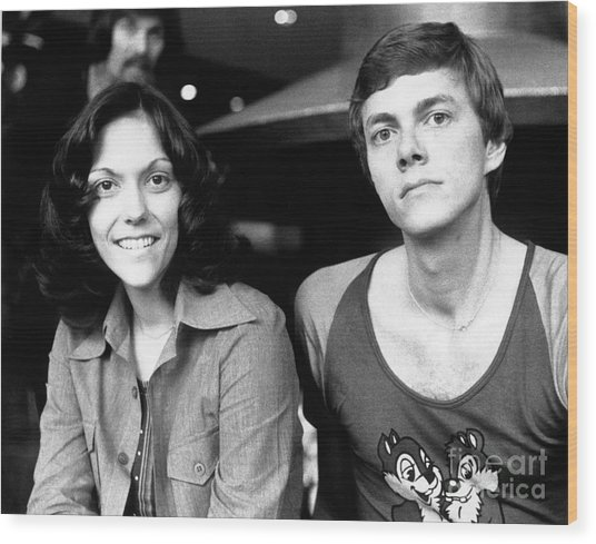 The Carpenters 1972 Wood Print
