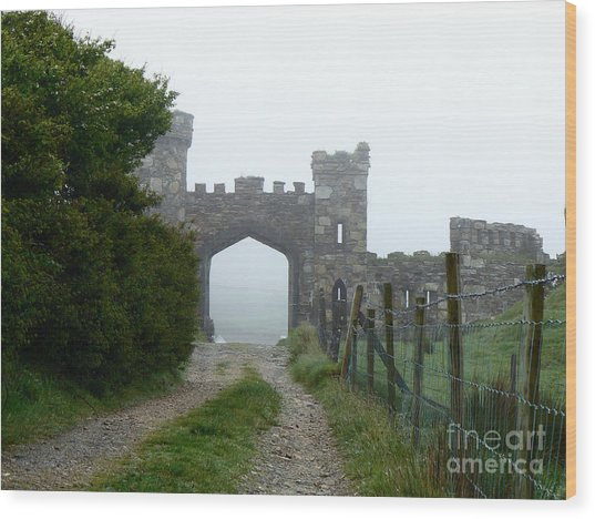The Castle Gate Wood Print