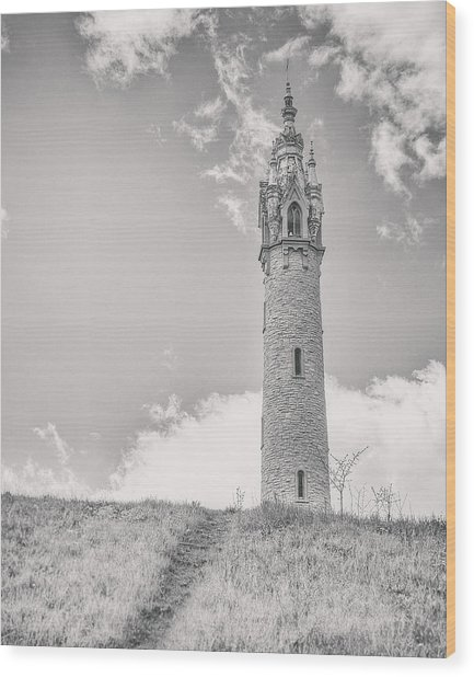 The Castle Tower Wood Print