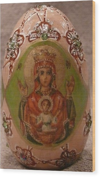 The Christ Child Wood Print