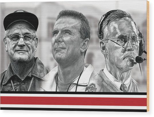 The Coaches Wood Print